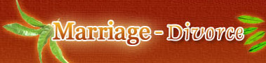 Marriage Divorce Logo