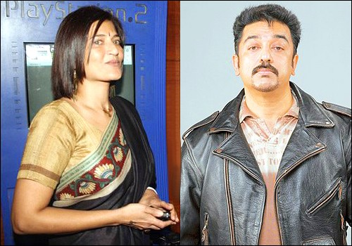 Kamal Hassan And Sarika Divorce Photos