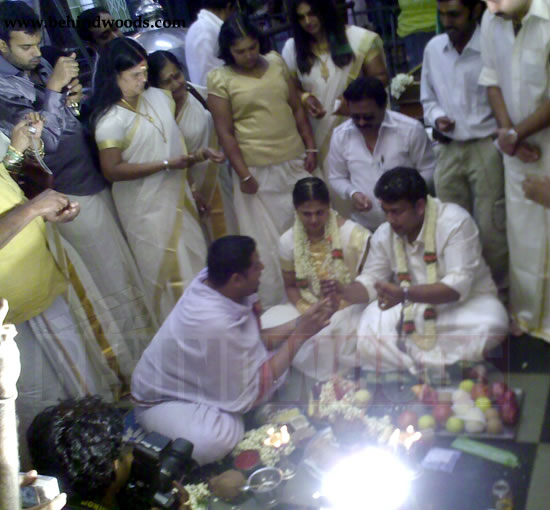 Prabhu Married To Sindhu Menon