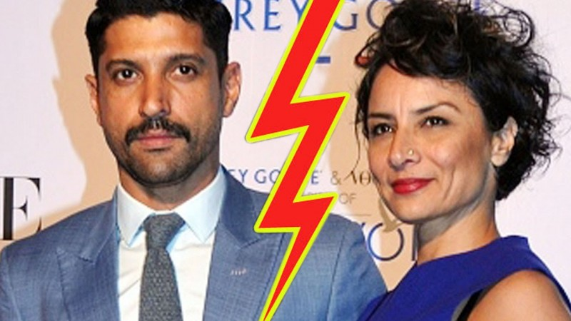 Farhan Akhtar And Adhuna Bhabani Got Divorced