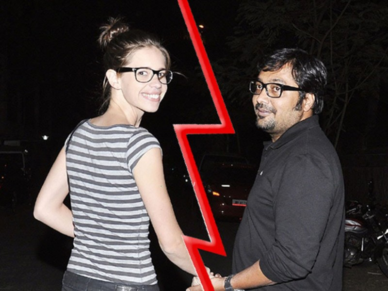 Anurag Kashyap And Kalki Koechlin Divorce Pics