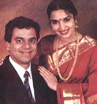 Sukanya And Sridharan Rajagopalan Got Divorced