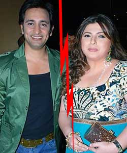 Delnaaz Irani And Rajeev Paul Divorce Photos