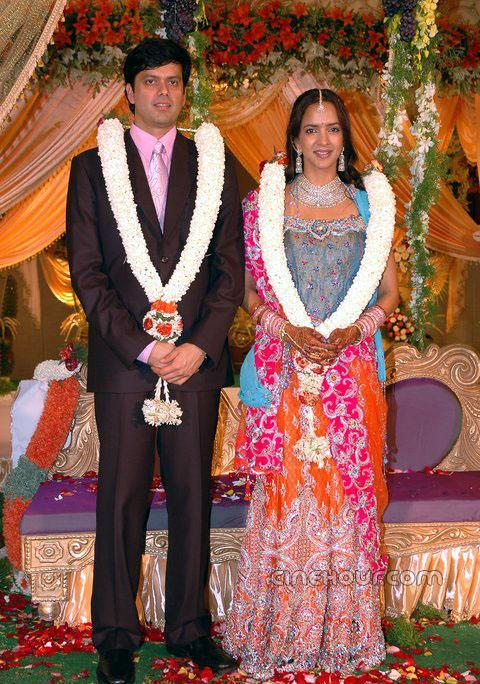 Andy Srinivasan And Lakshmi Prasanna Wedding Photos
