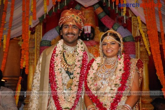 Veronica Reddy And Vishnu Vardhan Wedding Photos