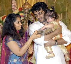 Ajith And Shalini Marriage Pictures