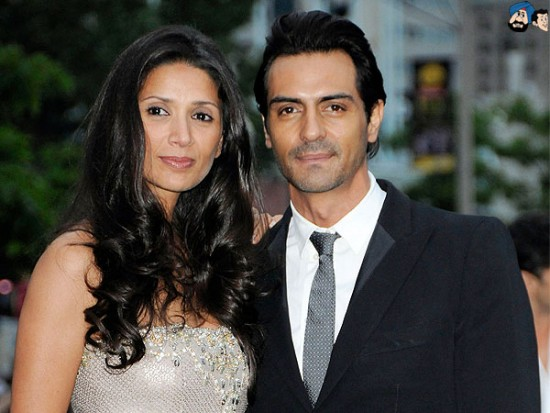 Arjun Rampal Married To Mehr Jesia Photos
