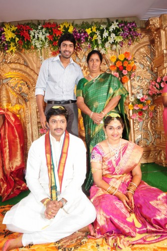 Subhashini Aryan Rajesh Marriage Photos