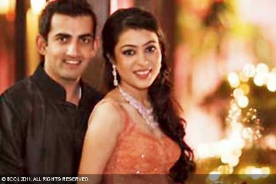 Natasha Jain And Gautam Gambhir Marriage Images