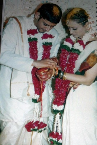 Namrata Shirodkar And Mahesh Babu Marriage Photos