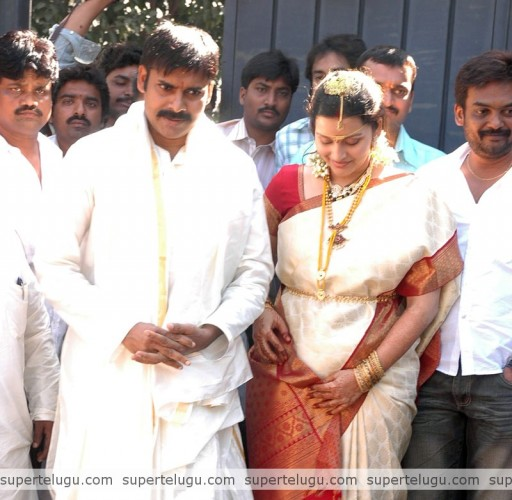 Pawan Kalyan And Renu Desai Wedding Pictures
