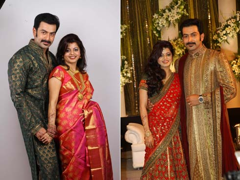Supriya Menon And Prithviraj Wedding Photos