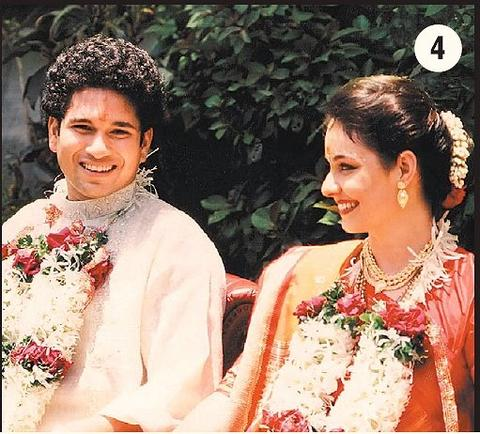 Sachin Tendulkar And Anjali Mehta Wedding Pics