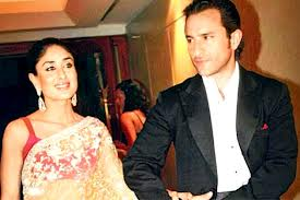Kareena Kapoor And Saif Ali Khan Marriage Photos
