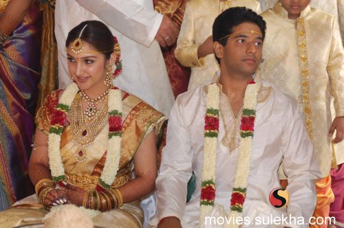 Rahul And Sridevi Marriage Photos