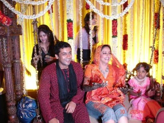 Surya Jyothika Marriage Photos