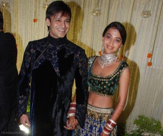 Vivek Oberoi & Priyanka Alva Wedding Photos