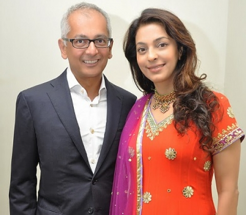 Jey Mehta Tied The Knot With Juhi Chawla