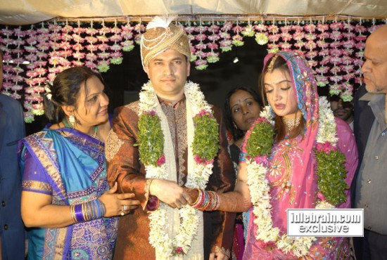 Aarthi Agarwal And Ujwal Kumar Marriage Photos