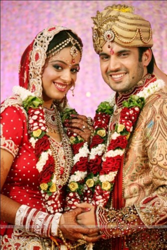 Jyoti Makkar And Ajay Singh Choudhuary Wedding Pictures