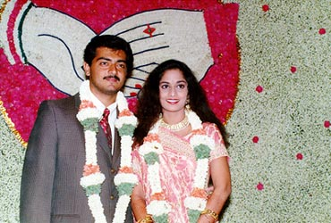 Shalini And Ajith Wedding Photos