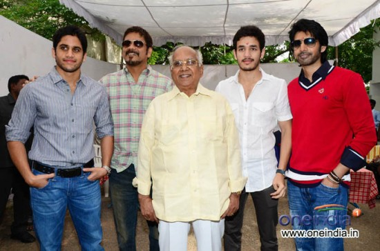 Annapurna  And Akkineni Nageshwar Rao Wedding Photos