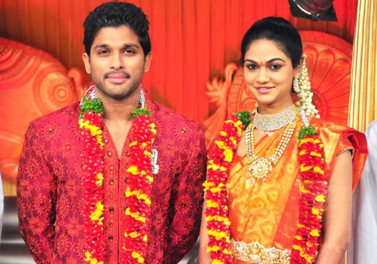 Wedding Photos Of Allu Arjun And Sneha Reddy