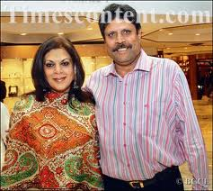 Romi Bhatia And Cricketer Kapil Dev Wedding Pictures
