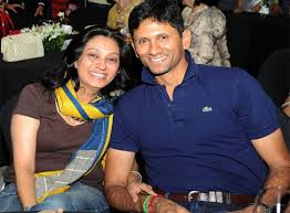 Cricketer Venkatesh Prasad And Jayanthi Marriage Photos