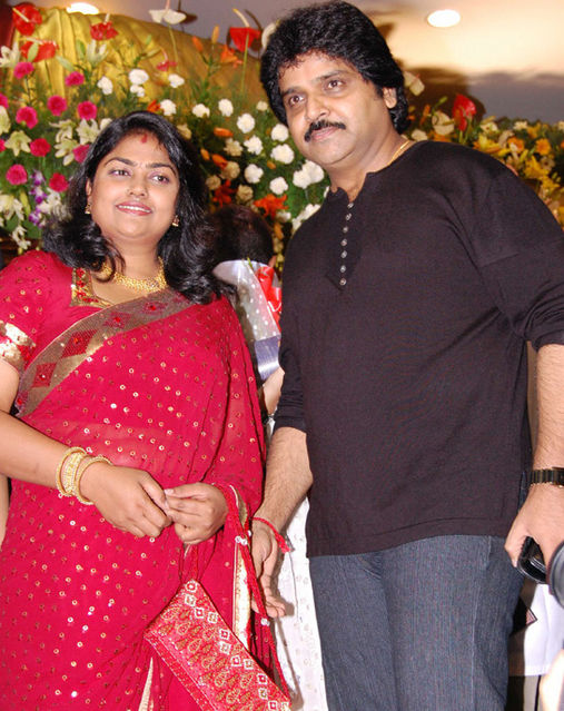 Actress Nirosha And Ramki Marriage Photos