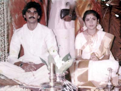 Actress Revathi Marriage Photos