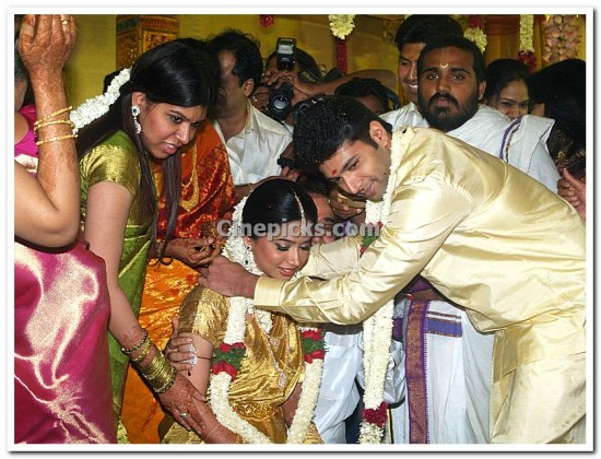 Tamil Actor Jayam Ravi And Aarthi Marriage Photos