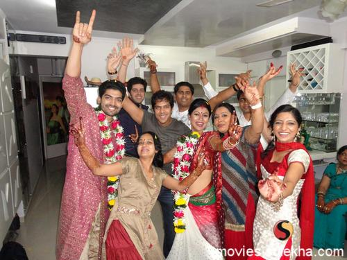 Debina And TV Actors Gurmeet Marriage Photos