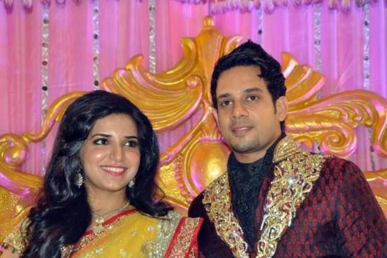 Jeshly Joshua And Tamil Actor Bharath Wedding Photos
