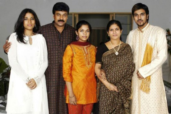 Actor Chiranjeevi And Surekha Marriage Photos