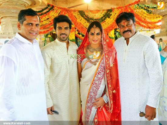 Upasana And Actor Ram Charan Teja Wedding Pictures