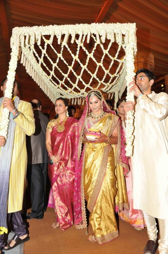 Actor Ram Charan And Upasana Marriage Photos