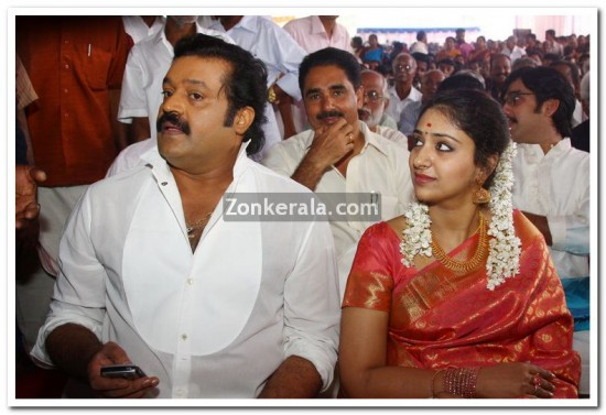 Radhika And Actor Suresh Gopi Wedding Pictures