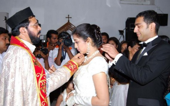 Gopika Ajilesh Chacko Marriage Photos