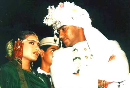 Kajol And Ajay Devagn Marriage Photos