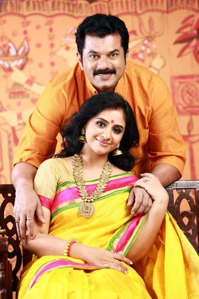 Methil Devika And Actor Mukesh Second Marriage Photos