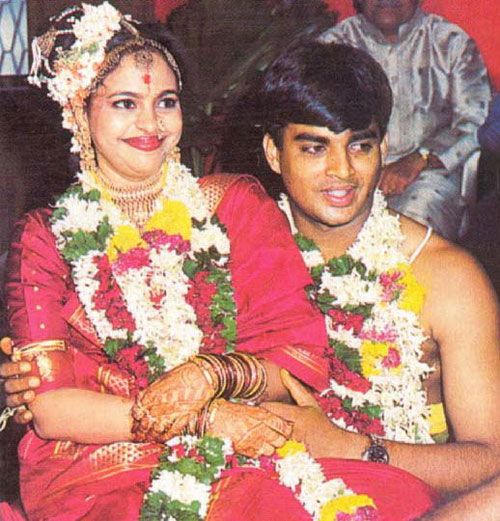 sarita birje and r madhavan wedding pictures