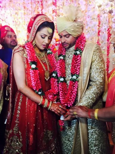 Wedding Story Of Indian Cricketer Suresh Raina And Priyanka Chaudhary