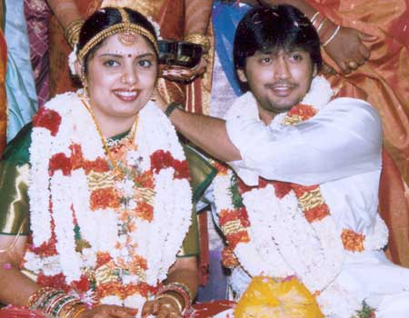 Actor Prashanth And Grahalakshmi Wedding Photos