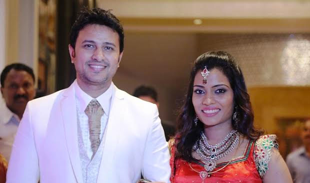 Actor Raja And Amrita Vincent Marriage Photos