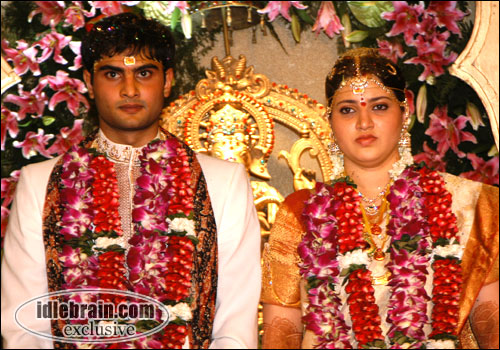 Actor Sudheer Babu And Priyadarsini Marriage Photos