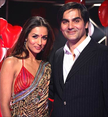 Actor Arbaaz Khan And Malaika Arora Khan Wedding Photos