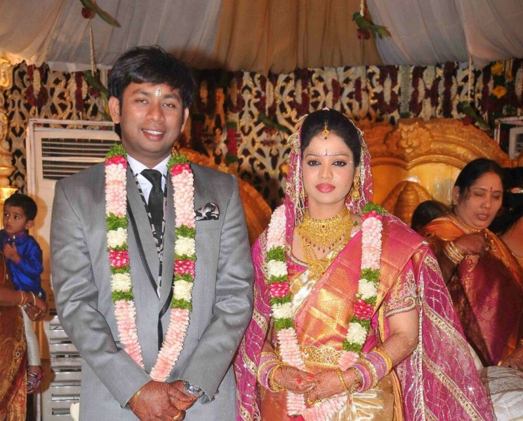 Amarnath And Actor Nikhil Sister Sonali Marriage Photos