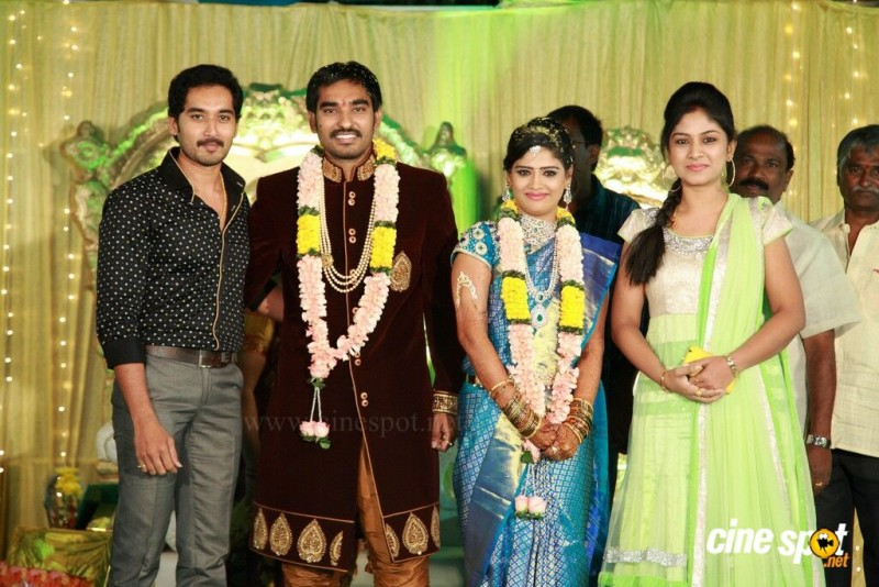 Anjali And Actor Santosh Pavan Marriage Photos
