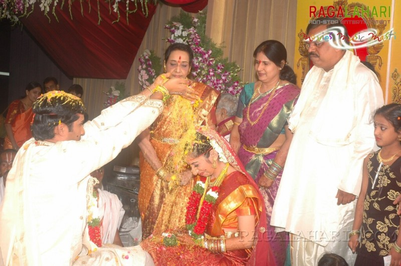 Jamuna Daughter Sravanthi And Vijay Rahul Wedding Photos